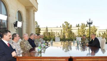 President Ilham Aliyev receives delegation led by Defence Minister of Turkey