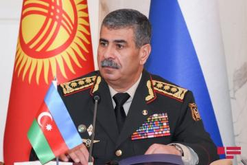 "Azerbaijani Defence Minister: ""God willing, Azerbaijani Armed Forces will implement its duty with the support of Turkish Armed Forces"""