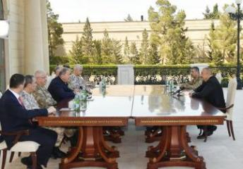 Ильхам Алиев: Личный состав ВС Турции, находясь в эти дни в Азербайджане, увидел, что здесь они у себя на Родине