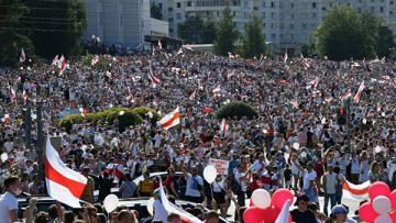 Акция оппозиции в Минске прошла без задержаний