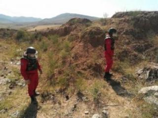 Qazax rayonunda təhlükəli sursat aşkarlanıb - [color=red]FOTO[/color]