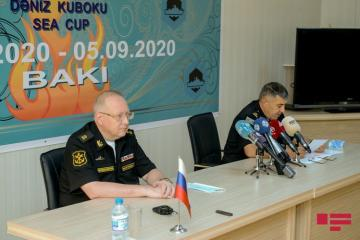 """Commander of Navy Forces: """"""""Sea Cup"""" contest serves for strengthening peace on Caspian Sea"""""""