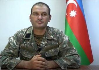 Əsir götürülmüş erməni komandir Azərbaycan Ordusuna qarşı diversiya törətmək tapşırığı aldığını deyib - [color=red]VİDEO[/color]