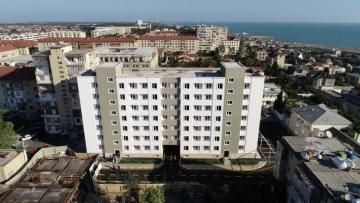 President Ilham Aliyev and first lady Mehriban Aliyeva attended opening of newly renovated dormitory in Buzovna