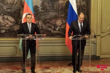 Лавров: Россия и впредь продолжит усилия по урегулированию нагорно-карабахского конфликта