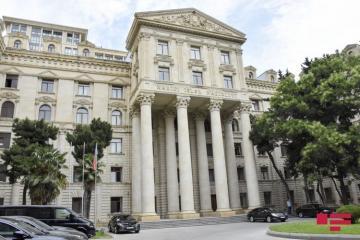 МИД: Мы решительно отвергаем такие обвинения Армении против Азербайджана, как нарушение международного гуманитарного права, «армянофобия»