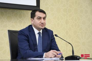 "Assistant to President of Azerbaijan: ""Russia's explanation saying as if construction materials were transported to Armenia doesn't satisfy us"""