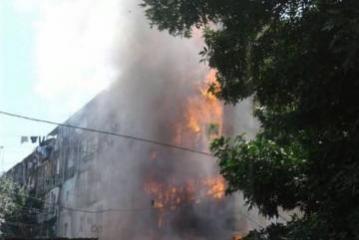 В Ширване в общежитии произошел пожар, погибли двое малолетних детей