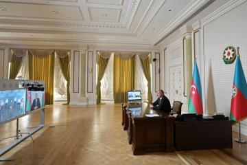 Azerbaijani President: The material and technical infrastructure of our healthcare system plays a special role in the fight against COVID
