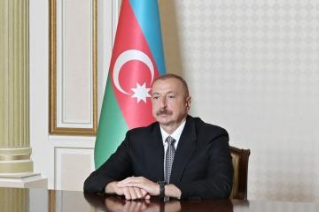 """President Ilham Aliyev: """"If our citizens continue to act responsibly, we can return to normality in a short time"""""""