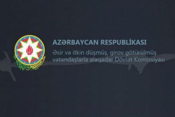 Dövlət Komissiyası: Ermənistan azərbaycanlı əsirləri beynəlxalq təşkilatlardan gizlədir