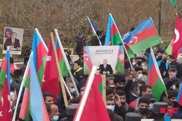 В Тахтакёрпю отметили освобождение Лачина от оккупации - [color=red]ВИДЕО[/color]