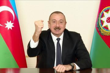 Президент Азербайджана: В течение этих 44 дней не было такого, чтобы мы где-то отступали