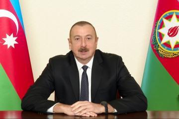 Azerbaijani President: War is already in the past