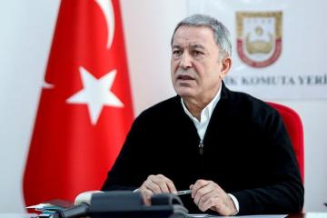 "Akar: ""Joint Russian-Turkish Ceasefire Monitoring Center is being constructed"""