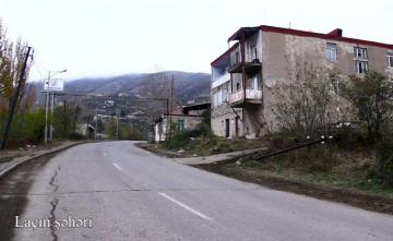 Ministry of Defense releases video footage of the Lachin city - [color=red]VIDEO[/color]
