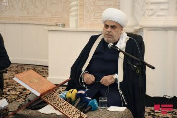 Шейхульислам: Эту гордость азербайджанскому народу подарили Верховный Главнокомандующий и победоносная Армия, наши шехиды