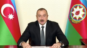 Azərbaycan Prezidenti BMT Baş Assambleyasının xüsusi sessiyasında çıxış edib