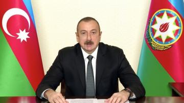 Президент Азербайджана: Из-за игнорирования международного права выполнение резолюций СБ ООН путем применения силы было неизбежным