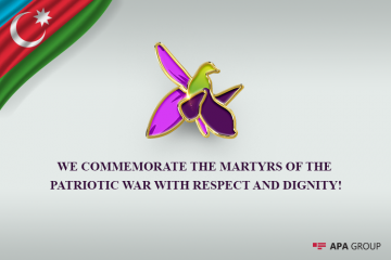 Today a minute of silence will be observed in Azerbaijan to pay tribute to martyrs of the Patriotic War