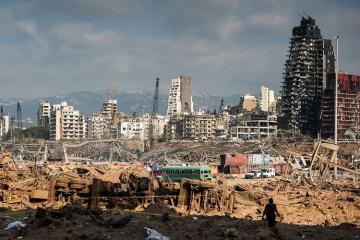 Beyrut şəhərinin bərpasına 2,5 milyard dollar lazım gələcək