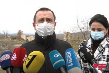 """İtaliya Deputatlar Palatasının sədr müavini: """"Ağdamda zorakılığın şahidi olduq, bütün evlər, bütün infrastruktur dağıdılıb"""""""