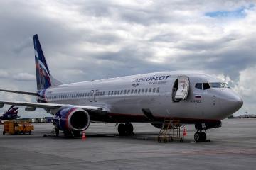 Moskvadan Nyu-Yorka uçan sərnişin təyyarəsi hava limanında saxlanılıb