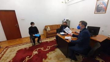 Члены Национальной превентивной группы встретились с армянскими военнопленными и удерживаемыми лицами