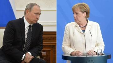 Путин и Меркель обсудили Карабах