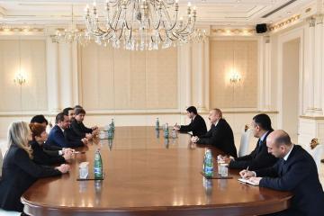 Ильхам Алиев: Итальянской стороне предложено участие в восстановлении освобожденных от оккупации территорий