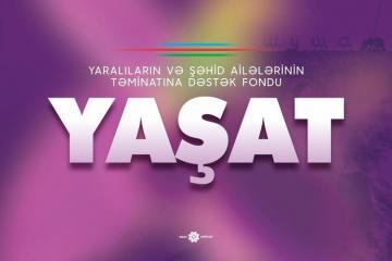 """""""YAŞAT"""" Fonduna bir gündə 1,5 milyon manat vəsait ianə edilib"""