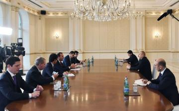 President Ilham Aliyev received delegation of Italian Ministry of Foreign Affairs and International Cooperation