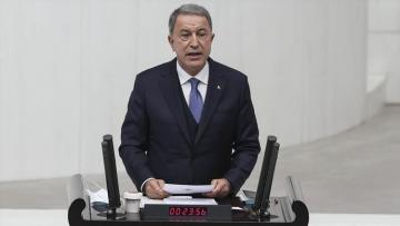 "Hulusi Akar: ""Turkey will also stand by Azerbaijani brothers with all its opportunities from now"""