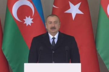 """Azərbaycan Prezidenti: """"Bu gün tarixi bir gündür"""""""