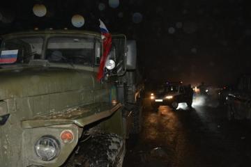 В Карабахе произошло крупное ДТП с участием машины российских миротворцев, есть погибшие