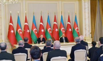 Президент Ильхам Алиев: Турецкие и азербайджанские компании будут вместе участвовать во всех проектах в Карабахе