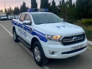 Органы внутренних дел Азербайджана получили новые служебные автомобили