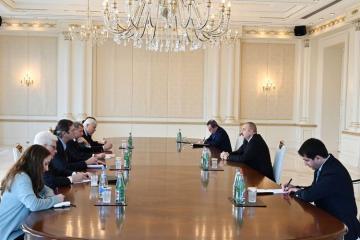 Президент Ильхам Алиев принял сопредседателей Минской группы ОБСЕ от Франции и США