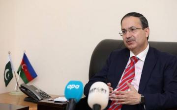 Посол: Пакистан готов оказать всестороннюю поддержку Азербайджану в восстановлении освобожденных районов - [color=red]ФОТО[/color]