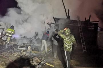 Başqırdıstanda baş vermiş yanğın zamanı 11 nəfər ölüb