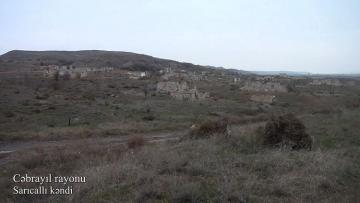 İşğaldan azad olunmuş Cəbrayılın Sarıcallı kəndi - [color=red]VİDEO[/color]