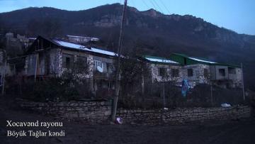 Xocavənd rayonunun Böyük Tağlar kəndi - [color=red]VİDEO[/color]