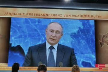 """Vladimir Putin: """"Dağlıq Qarabağ beynəlxalq hüquqa görə Azərbaycan ərazisidir"""""""
