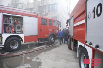 В поселке Рамана произошел пожар