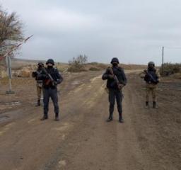 В освобожденном от оккупации Джабраильском районе усиливаются меры безопасности