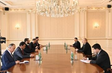 Azerbaijani President received Afghanistan's national security adviser and head of the Presidential Administration