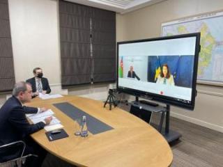 Состоялась встреча между главами МИД Азербайджана и Швеции