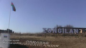 Azerbaijani MoD releases video footage of the Minjivan settlement of Zangilan region - [color=red]VIDEO[/color]