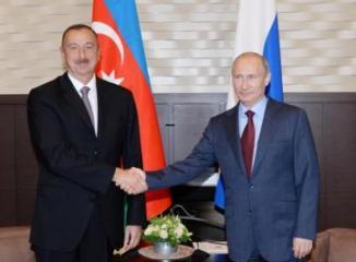 Vladimir Putin Azərbaycan Prezidentinə zəng edib