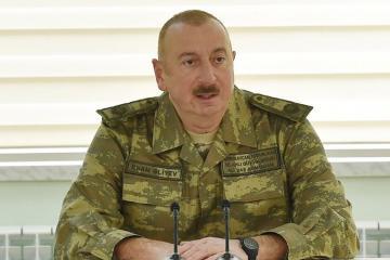 Ильхам Алиев: Пришли, захватили чужую землю, а затем стали утверждать, что это древняя армянская земля - [color=red]ВИДЕО[/color]